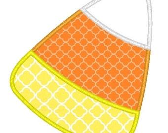 Candy Corn Machine Embroidery Applique Design