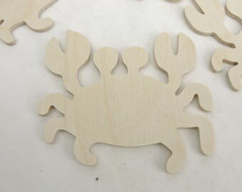 Crab cutouts set of 4
