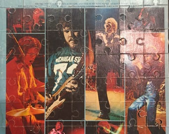 Upcycled Vinyl Record Cover Album Jigsaw Puzzle: Bachman Turner Overdrive