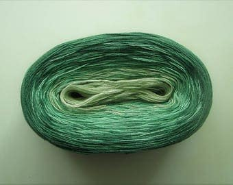 BREEZE  Color Changing Cotton yarn  480 yards/100 gr  Fingering Weight