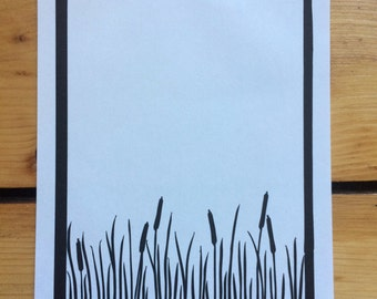 Rushes / Cattail Original Papercut
