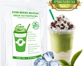 STARBUCKS Green Tea Frappe comparable, 100% Natural, FREE 1-3 Day USA Shipping
