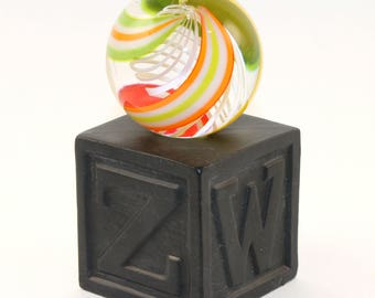 NEW! LIGHTED!! Porcelain Marble Stand! Bisque fired Hand Made by me - you decorate!!     MS98