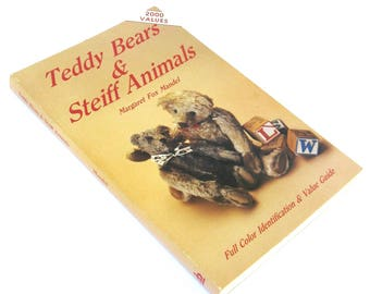 steiff  vintage book  ...   teddy bears and steiff animals  ... reference book