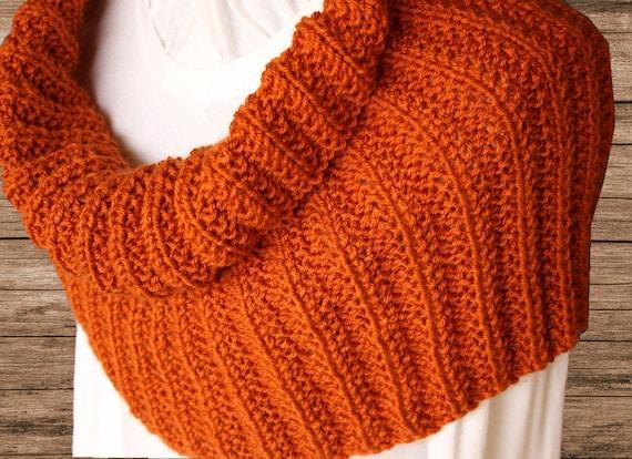 Knit Cowl Pattern Rib Knit Cowl Pattern Cowl Patterns Knit