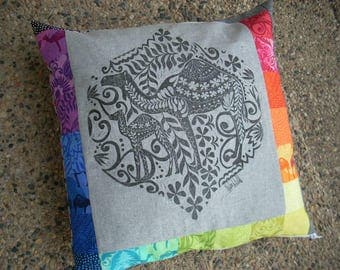 jasmine signed print pillow cover - FREE SHIPPING