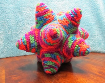 Crochet Star Ball - Dodecahedron