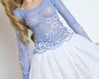 Lace shirt for Super Dollfie Feeple Volks Luts Soom Fairyland SD