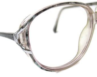 Hand Made Vintage 70s Big Lens Eyeglasses Frames