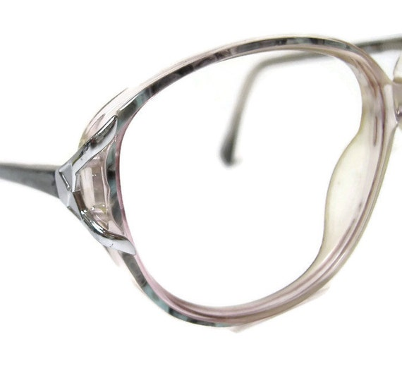 Hand Made Vintage 70s Big Lens Eyeglasses Frames