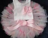 Pink Girly Girl Tutu Dress for Baby Girls 1st Birthday Party