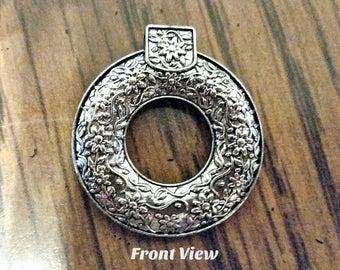 Antique Silver Pendant  - SALE