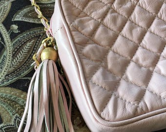 Vintage pink handbag