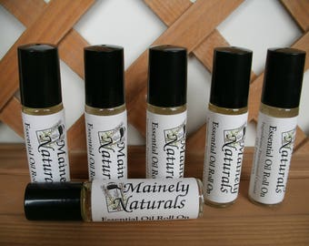 Ylang Ylang Essential Oil Roll On, Roller, All Natural Perfume ,Single Note