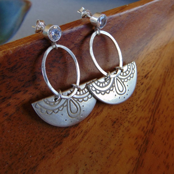 tucson earrings native american jewelry hand carved southwest