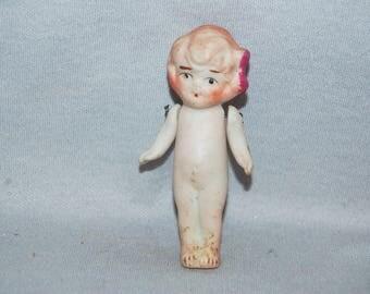 Vintage / Cute / Bisque / Doll / Flapper / skirt / frozen charlotte / penny doll / Vintage Dolls