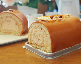 10 roll cake cases -dome type