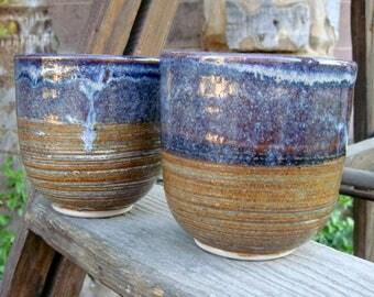 Rutile Slipped Tea Bowls