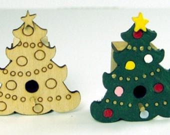 Christmas Tree Birdhouse Kit 1:12 Scale