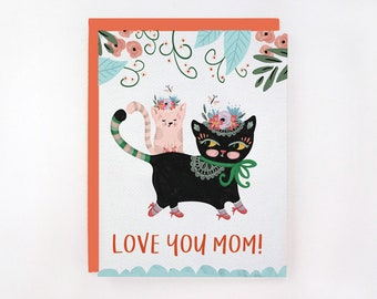 Love You Mom! Card