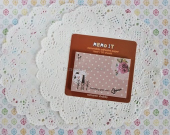 Memo It Removable Adhesive Paper - Memo Pad - Sticky Note - Post It - Planner - Diary Planner - Bookmark - Ready to ship