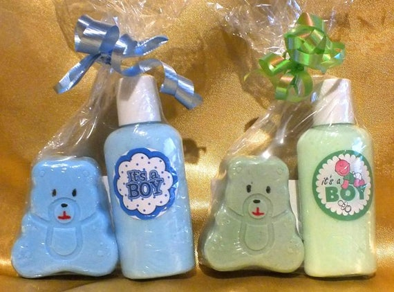 FREE SHIPPING Baby Shower Baby Favor Baby Soap Baby Boy Favor Baby Boy Shower