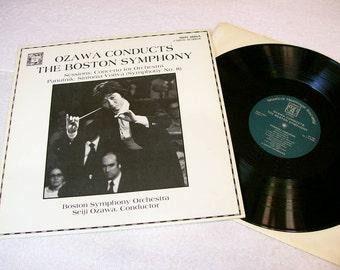 Seiji Ozawa Conducts The Boston Symphony / MHS 4886A Digital Stereo / 33 Rpm Lp