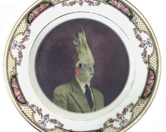 Mr. Gary Tiel Portrait Plate 6.15""