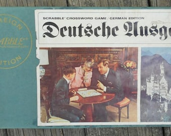 Vintage German Scrabble Game 1968