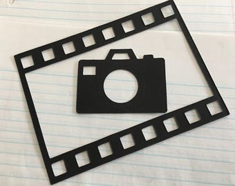 Film Strip Camera Stickers-Film Frame-Photo Stickers-Photo Album Frames-Camera Sticker-Planner Pages-Agendas-Scrapbooks-Bible Journals