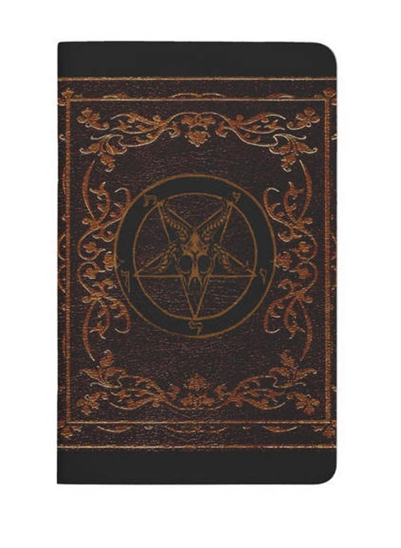 Baphomet Spell Book, Journal, Grimoire, sketchbook