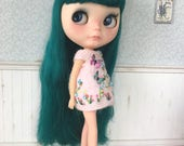 Pink Embroidery Dress for Blythe Doll