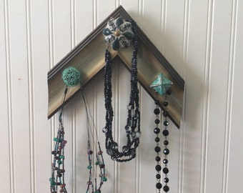 Jewelry Wall Holder, Jewelry Wall Organizer, Jewelry Wall Hangup, Necklace Wall Holder, Necklace Wall Organizer, Scarf Hangup, Scarf Holder