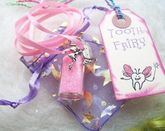 Tooth Fairy Gift Pixie Sparkle Necklace Wisdom Tooth Dental Hygienist Gift Dental Student Graduation Gift Tooth Fairy Necklace Jewelry