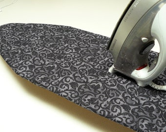 Ironing Board Cover TABLE TOP - black and smokey grey