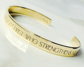 January Special . I Can Do All Things Bracelet . Inspirational Jewelry . Daily Reminder Jewelry . #TBCO