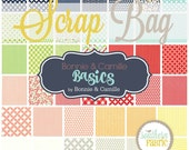 Basics - Scrap Bag Quilt Fabric Strips by Bonnie and Camille for Moda