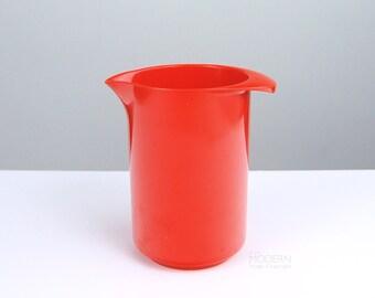Rosti Denmark Mod Red-Orange One Liter Pitcher by Erik Lehmann