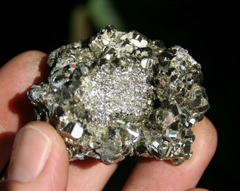 Pyrite Cluster from Spain