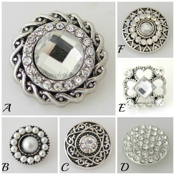 Snaps for your Ginger Snaps jewelry. 20 mm snap charms fit 18-20 mm snap jewelry including Noosa bracelets plus other brands