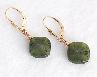 Green Jade earrings | Green Jade meaning | Green Jade jewelry | Green Jade stone | Green earrings | Jade and Gold jewelry
