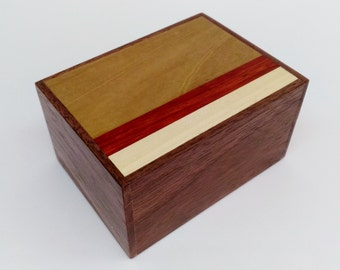 Japanese Puzzle box (Himitsu bako) 87mm (3.4inch)  12steps Natural wood