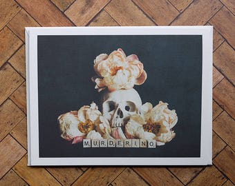 Murderino Greeting Card - Blank Inside - My Favorite Murder
