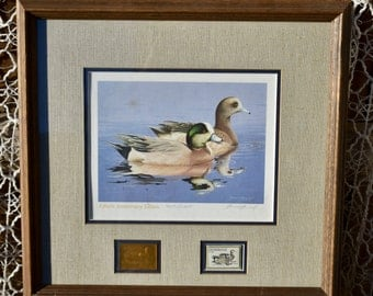 1984-1985 Federal Duck Stamp Print - Fiftieth Anniversary Edition