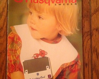 Husqvarna Embroidery System Card 1 with Book