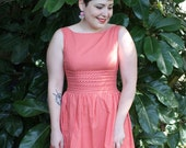 Pink Pleat Dress - Only 3 made!