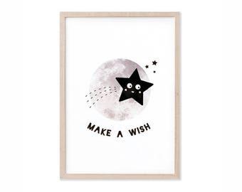 Make a Wish Print