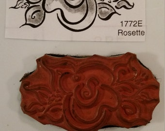 Penny Black Unmounted Rubber Stamp # 1772 E Used Artist Studio Rubber Stamp