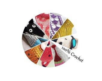 Ebook 100% Crochet - Sent by email