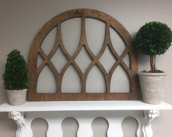 Vintage Inspired Arch Window Frame